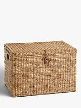 John Lewis & Partners Country Water Hyacinth Trunk