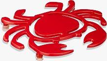 John Lewis & Partners Crab Trivet, Red