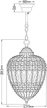 John Lewis & Partners Dante Small Ceiling Light,