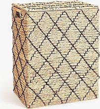 John Lewis & Partners Diamond Double Laundry Basket