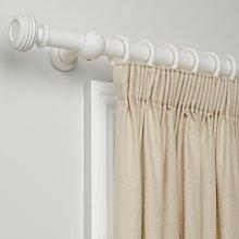 John Lewis & Partners Distressed Curtain Pole Kit,