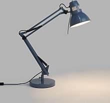 John Lewis & Partners Elliott Desk Lamp, Gloss