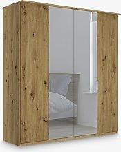 John Lewis & Partners Elstra 200cm Mirrored 4