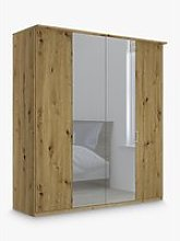 John Lewis & Partners Elstra 200cm Mirrored 4