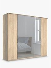 John Lewis & Partners Elstra 250cm Mirrored 5
