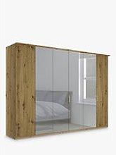 John Lewis & Partners Elstra 300cm Mirrored 6