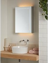 John Lewis & Partners Enclose Single Mirrored and