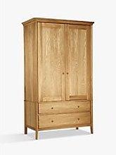 John Lewis & Partners Essence 2 Door Wardrobe, Oak
