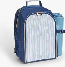 John Lewis & Partners Filled Striped Cooler
