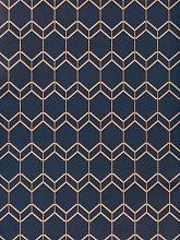 John Lewis & Partners Fillmore Wallpaper, Navy