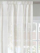 John Lewis & Partners Fine Stripe Voile Fabric,
