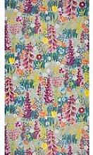 John Lewis & Partners Flora Wallpaper, Dark Duck