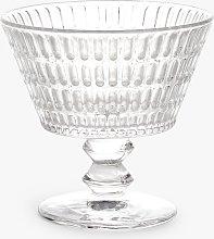 John Lewis & Partners Footed Pressed Glass Sundae