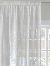John Lewis & Partners Geo Voile Fabric, Ivory