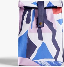 John Lewis & Partners Geometric Lunch Bag