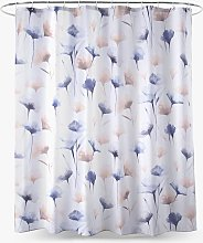 John Lewis & Partners Ginkgo Floral Shower Curtain