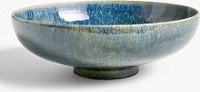 John Lewis & Partners Glazed Decorative Bowl, Green