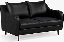 John Lewis & Partners Harp Small 2 Seater Leather
