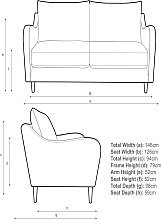 John Lewis & Partners Harp Small 2 Seater Sofa