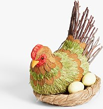 John Lewis & Partners Hen & Nest Easter Decoration