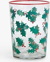 John Lewis & Partners Holly Glass Highball, 510ml,