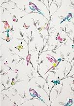 John Lewis & Partners Hummingbird Trees Wallpaper