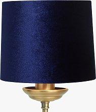 John Lewis & Partners Jenny Velvet Candle Lampshade