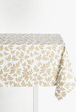 John Lewis & Partners Leaf Pattern Cotton