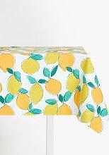 John Lewis & Partners Lemon Zest PVC Tablecloth