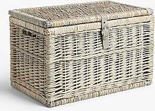 John Lewis & Partners Lidded Willow Storage Trunk,