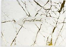 John Lewis & Partners Marble Guestbook