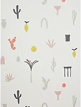 John Lewis & Partners Medina Wallpaper, Multi