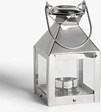 John Lewis & Partners Mini Square Lantern Candle Holder