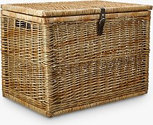 John Lewis & Partners Modern Country Woven Trunk,