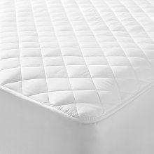 John Lewis & Partners Natural Cotton Quilted