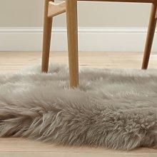 John Lewis & Partners New Sheepskin Rug Quad