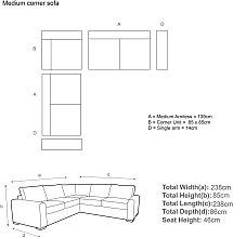John Lewis & Partners Oliver Corner Sofa