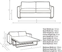 John Lewis & Partners Oliver Sofa Bed