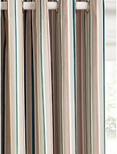 John Lewis & Partners Ombre Stripe Pair Blackout