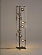 John Lewis & Partners Orb 8 Light Floor Lamp, Smoke