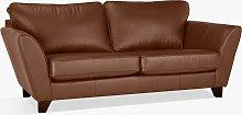 John Lewis & Partners Oslo Leather Large 3 Seater