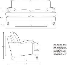 John Lewis & Partners Otley Small 2 Seater Sofa