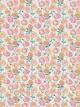 John Lewis & Partners Pomegranate PVC Tablecloth