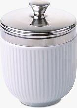 John Lewis & Partners Porcelain Egg Coddler, White