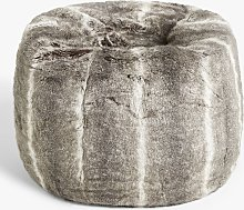 John Lewis & Partners Premium Faux Fur Beanbag,