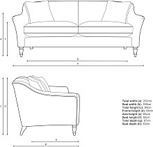 John Lewis & Partners Refine Large 3 Seater Sofa