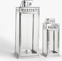 John Lewis & Partners Richmond Lantern Candle