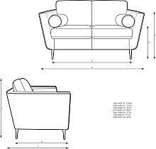 John Lewis & Partners Rise Small 2 Seater Sofa