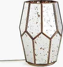John Lewis & Partners Romy Mirrored Glass Table