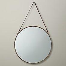 John Lewis & Partners Ronda Round Hanging Mirror,